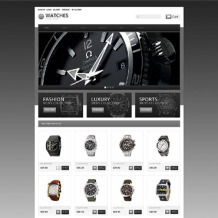 Watches OsCommerce Template
