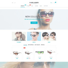 Eye Glasses Responsive PrestaShop Theme