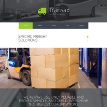 Transportation Responsive Joomla Template