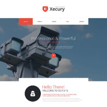 Security Responsive Joomla Template