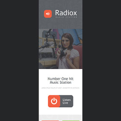 Radio Website Responsive Newsletter Template