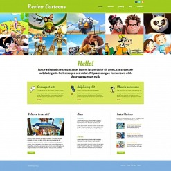 Movie Moto CMS HTML Template