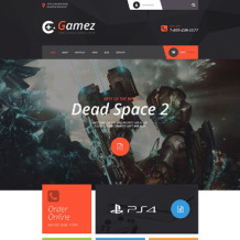 Games Responsive VirtueMart Template