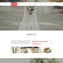 Wedding Responsive Drupal Template