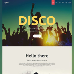 Night Club Responsive Joomla Template