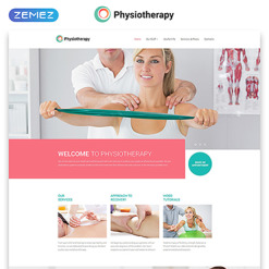 Rehabilitation Responsive Website Template