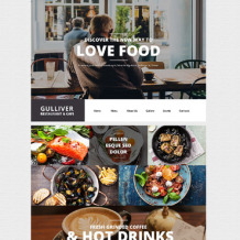 Cafe and Restaurant Responsive WordPress Theme