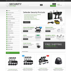 Security OsCommerce Template
