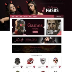 Entertainmnet OsCommerce Template