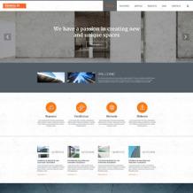 Architecture Responsive Joomla Template