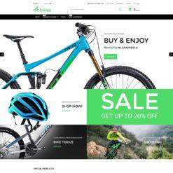 Bike Shop Responsive Magento Theme