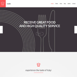 Food & Drink Responsive WordPress Theme