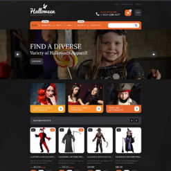 Halloween Responsive Shopify Theme