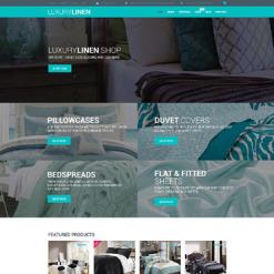 Linen & Lace Responsive WooCommerce Theme