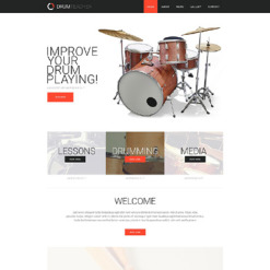 Private Teacher Responsive Website Template