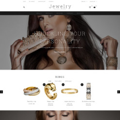 Jewelry Responsive OpenCart Template