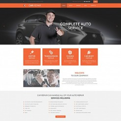Car Repair Responsive Moto CMS 3 Template
