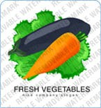 Vegetable Logo Template