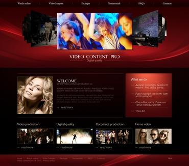 Video Lab PSD Template