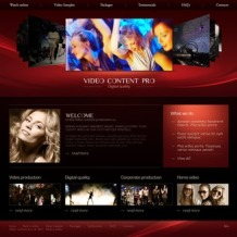 Video Lab PSD Template