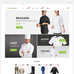 Uniform Store Responsive Shopify Theme