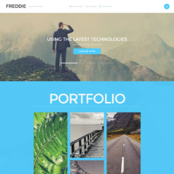Photographer Portfolio Joomla Template