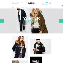 Apparel Responsive VirtueMart Template