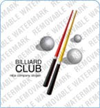 Billiards Logo Template