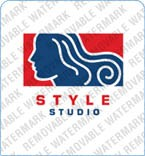 Hair Salon Logo Template