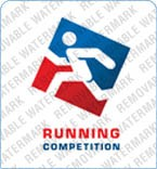Running Logo Template