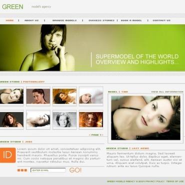 Model Agency SWiSH Template