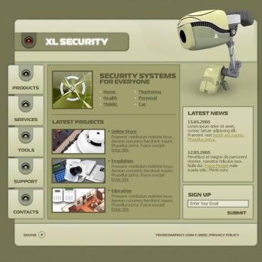 Security Flash Template