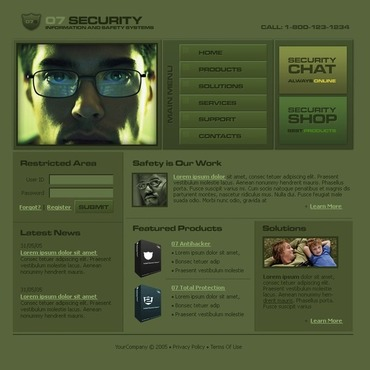 Information Security Flash Template