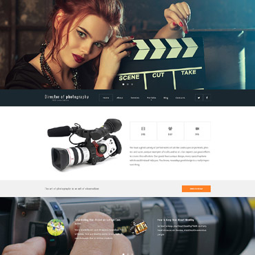 theme WordPress Photography